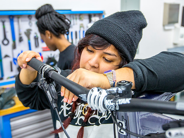 QBP Bike Mechanic Scholarship: Danielle