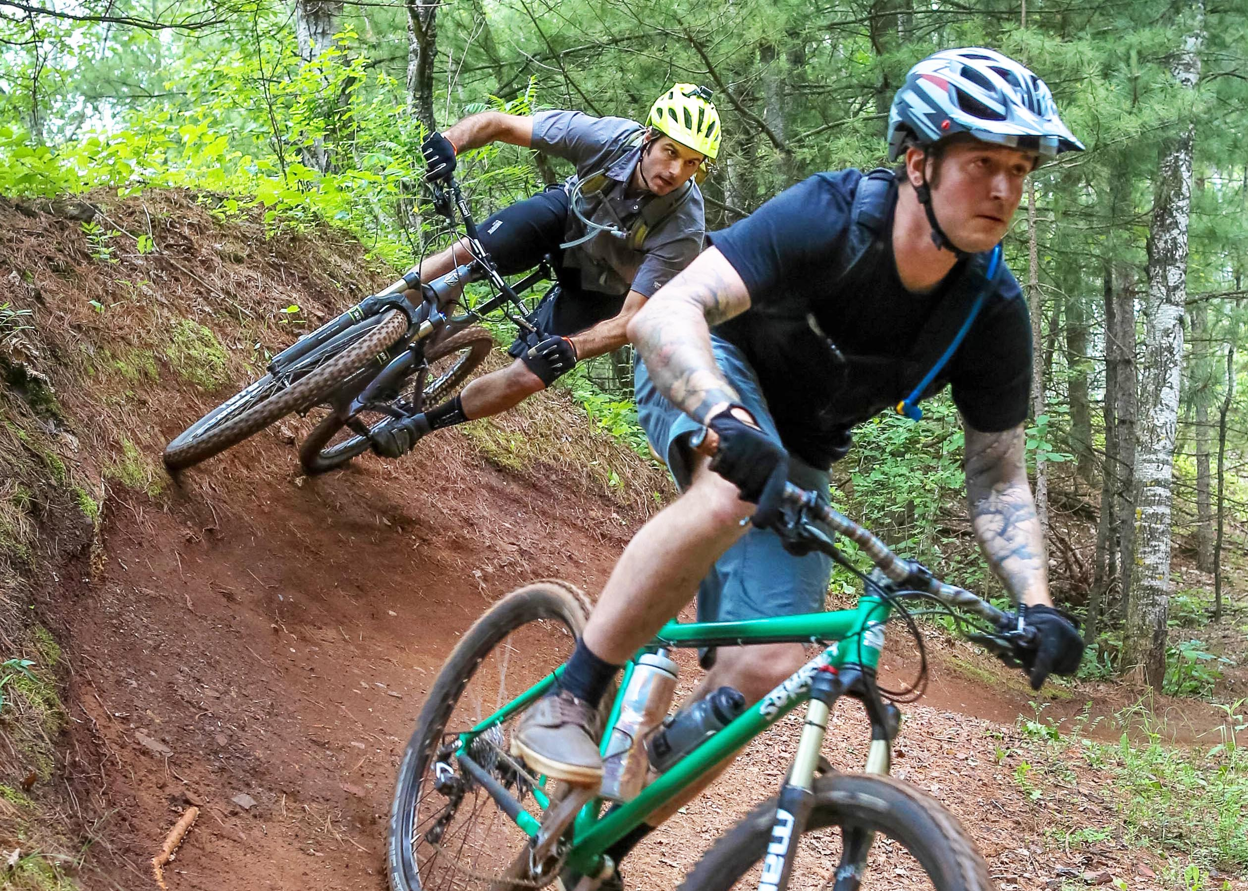 In 2008, QBP makes a key contribution in conjunction with IMBA to fund the construction of the Cuyuna Mountain Bike Trails. QBP employees participate in a letter writing campaign to gain support from their legislators and later assist in trail work.