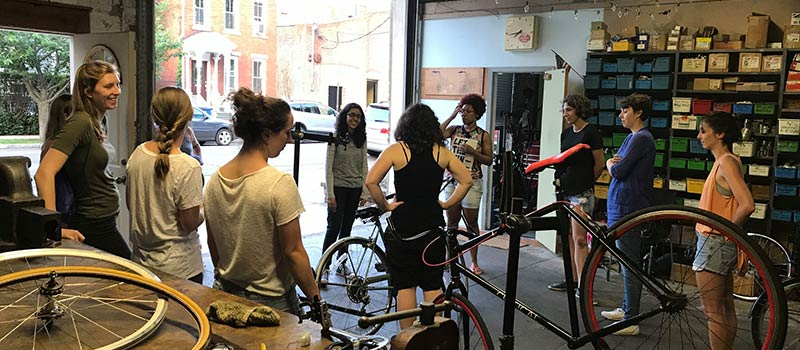 Bradley Street Bicycle Co-op Community Grant Project