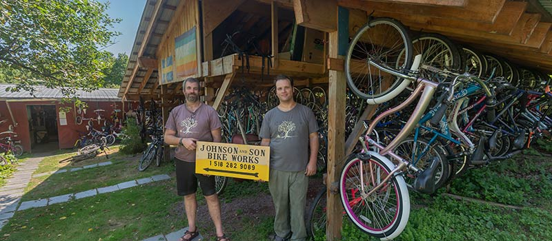 Johnson and Son Bikeworks Community Grant Project