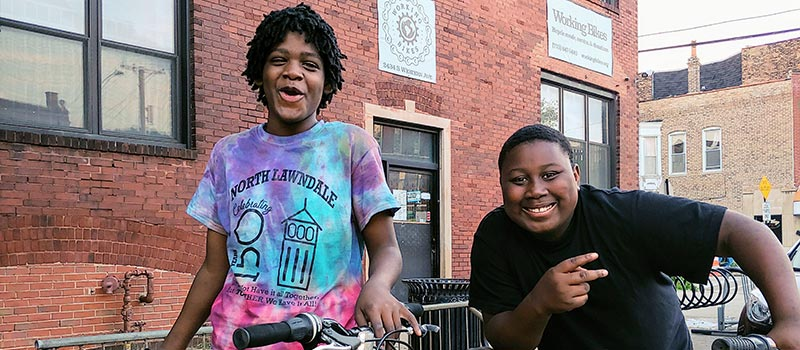 Working Bikes Community Grant Project
