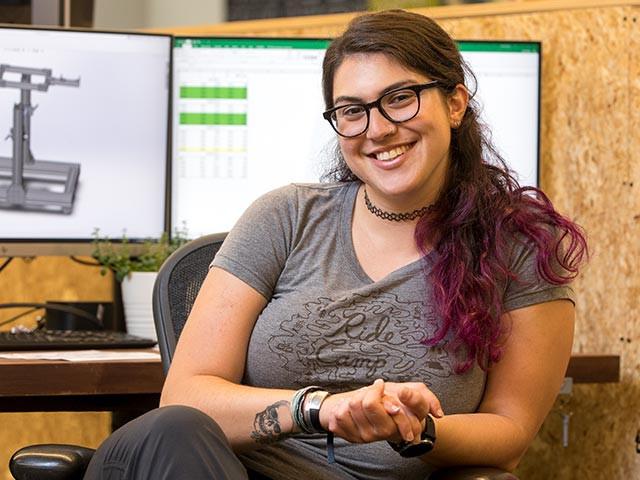 Meet Katie, QBP's Design Engineer Intern