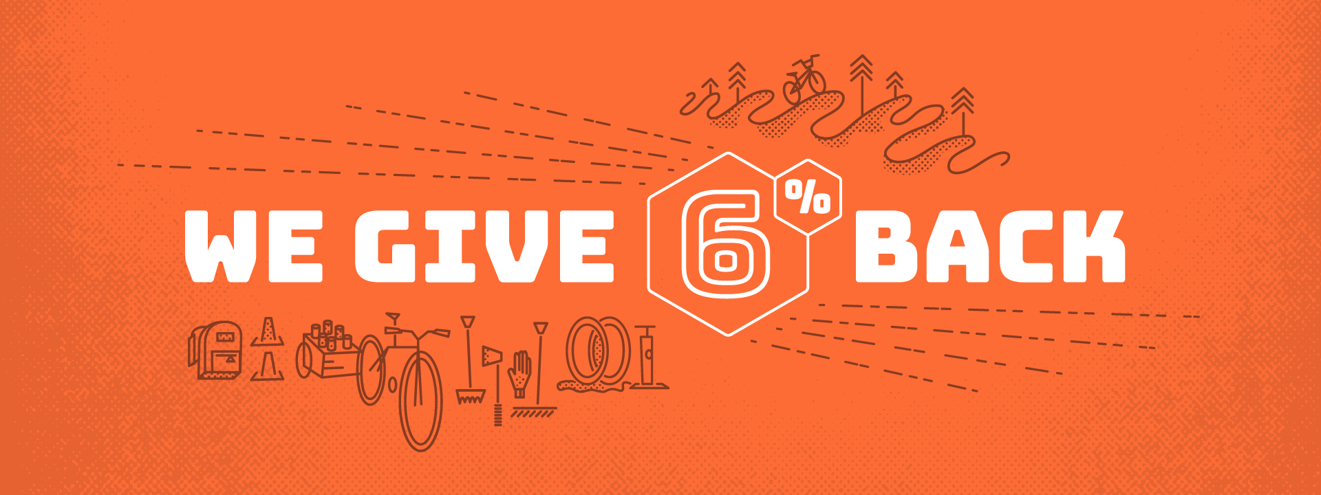 Giving Back: 6% for Bike Communities