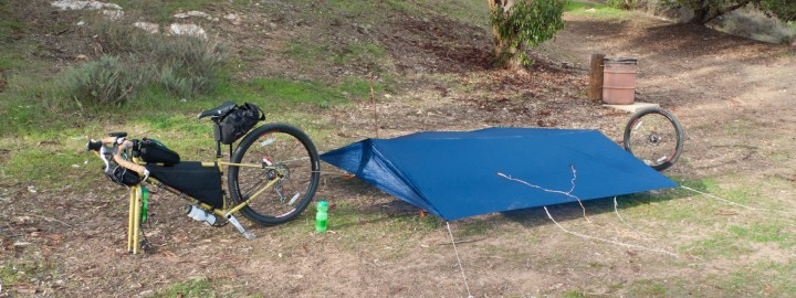 Touring on a bike: Setting Up A Home On The Road