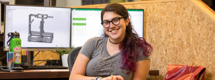 Meet Katie, QBP's Design Engineer Intern