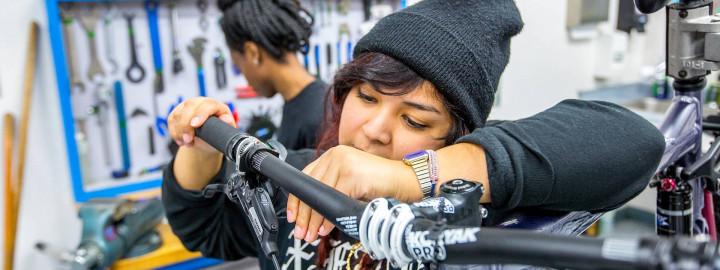 QBP Bike Mechanic Scholarship: Danielle