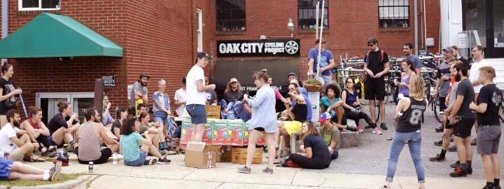 Building a Better Neighborhood: Oak City Cycling Project