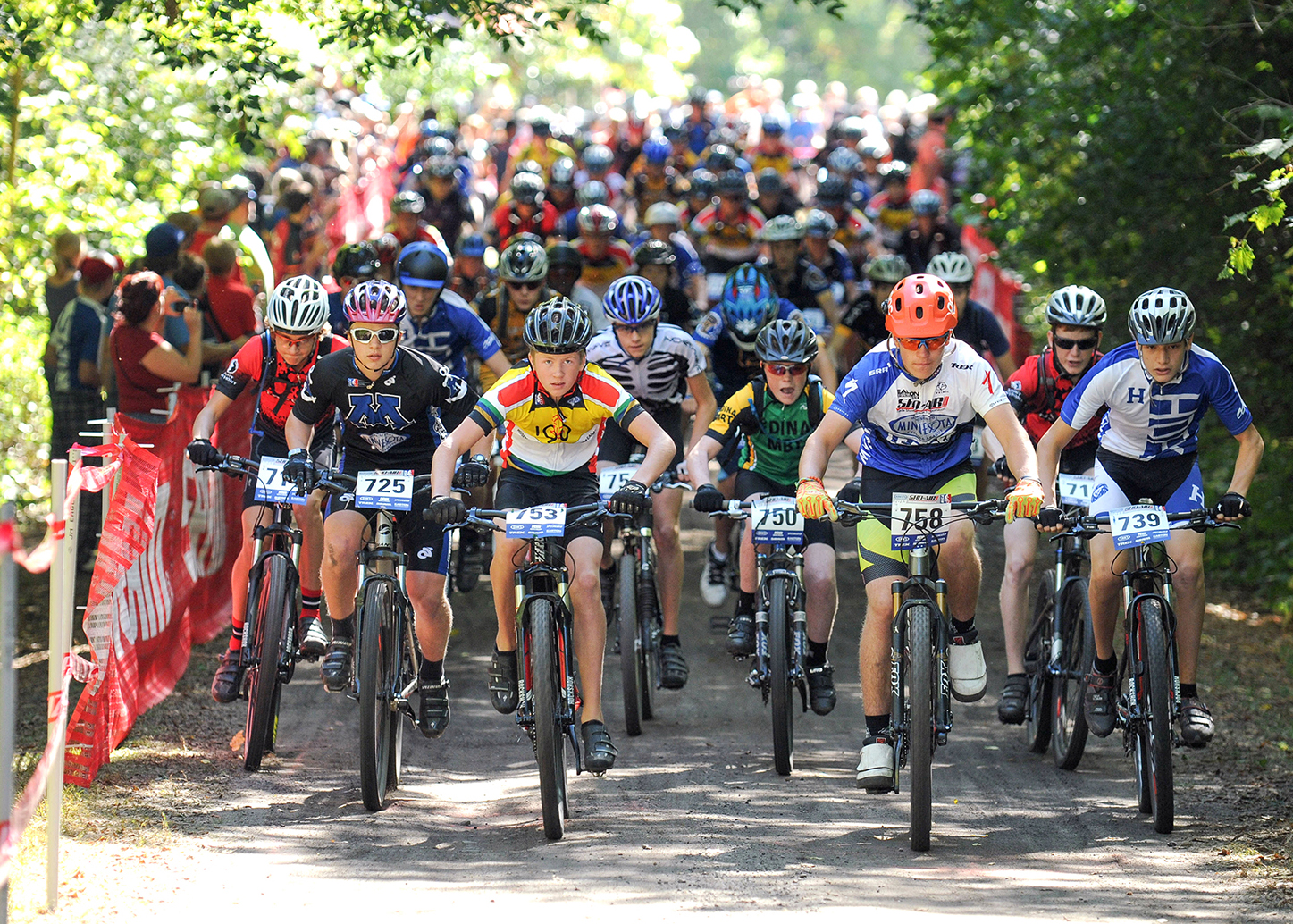 QBP works to develop a high school mountain bike league for Minnesota. Sjoquist works with NICA to launch the league with 155 student athletes participating in the first year (2012). As of 2017, that number is well over 1,000 student athletes.