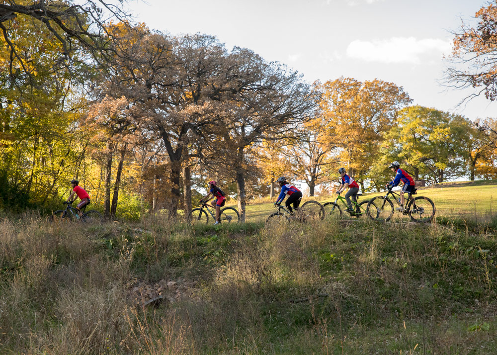 The new trails offer NICA teams from all over the metro area an accessible and fun place to sharpen their skills.