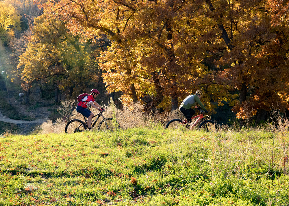 With new wider, beginner-friendly trails, Theodore Wirth is quickly becoming a hot spot for young families who want to give mountain biking a try.