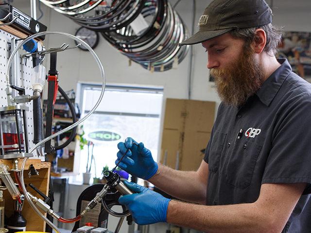 A Day Spa for Bike Parts: The QBP Service Center