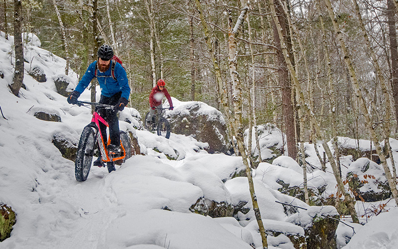While not part of the initial plan, winter fat biking at Cuyuna is a now a big draw for the region.