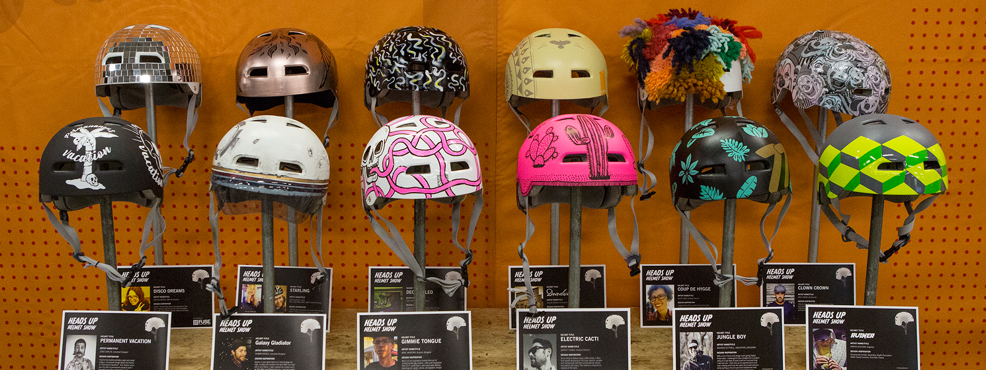 Heads Up Custom Helmet Show