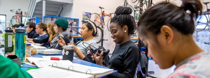 Women's Bike Mechanic Scholarship – Application
