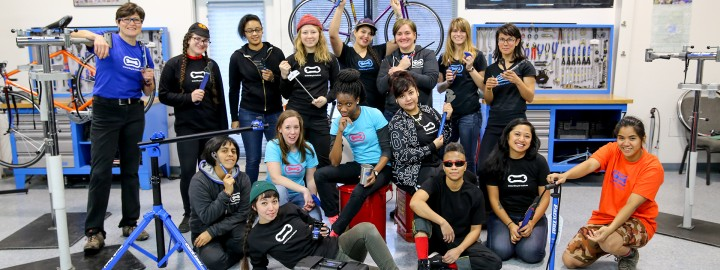 Women's Bike Mechanic Scholarship