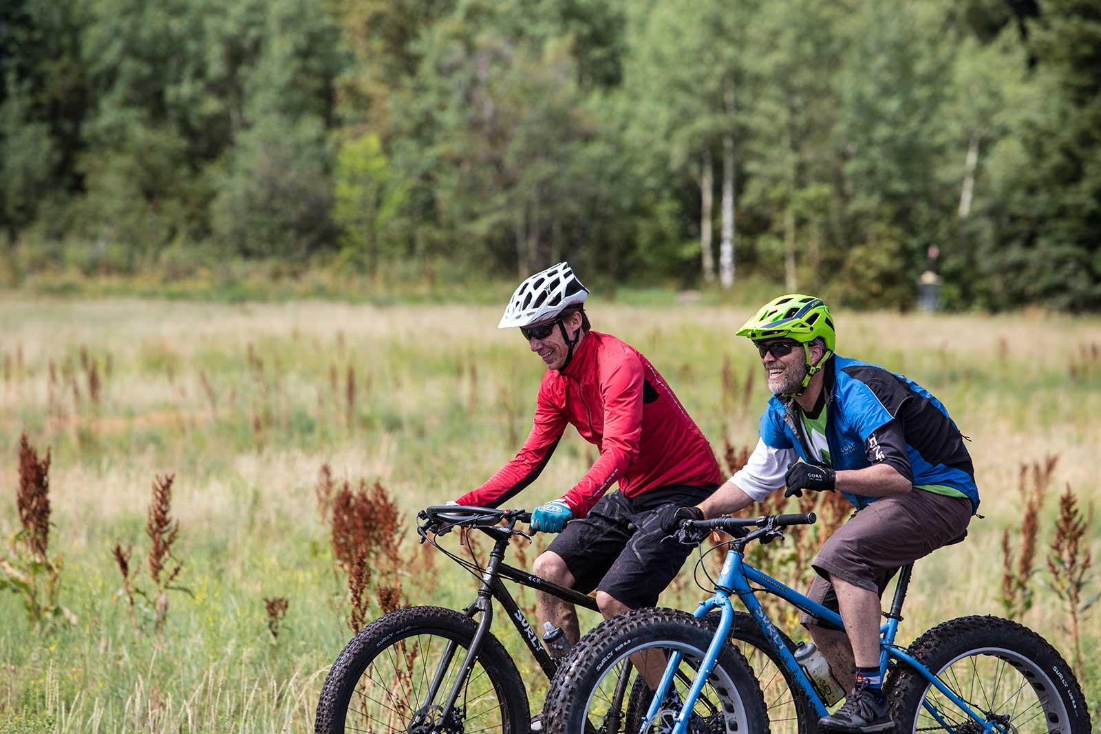 People riding Surly bikes at SaddleDrive 2015